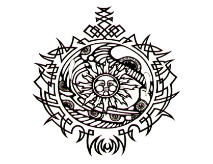 Celtic Circle Tattoo Design