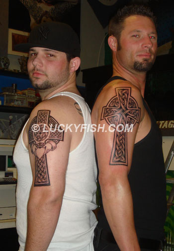 Celtic Cross Tattoo Designs For Brothers | Tattoobite.