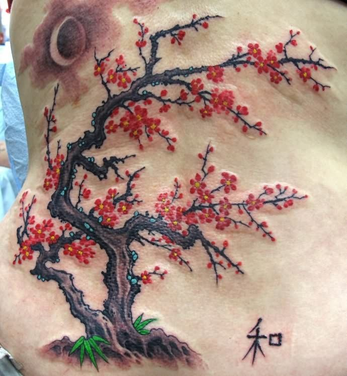 Cherry Blossom Tree Tattoo