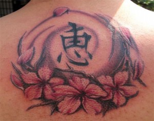 Chinese Cherry Blossom Tattoo