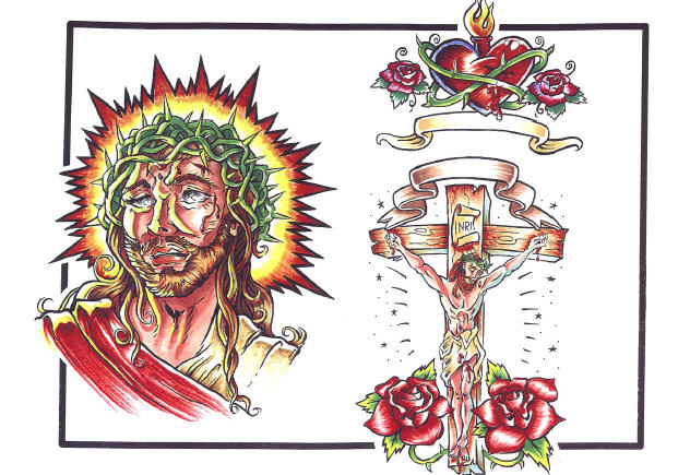 Christian Tattoo Designs Of Jesus
