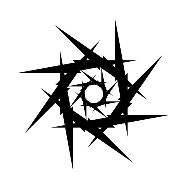Circle Of Thorns Tattoo Design