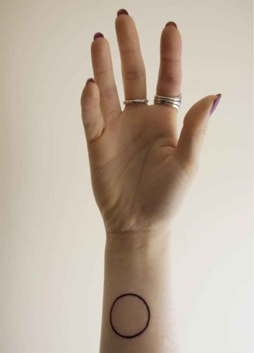 Circle Tattoo For Your Wrist