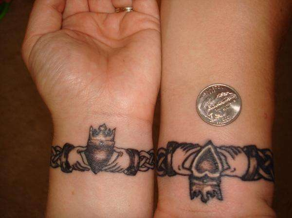 Husband and wife tattoos