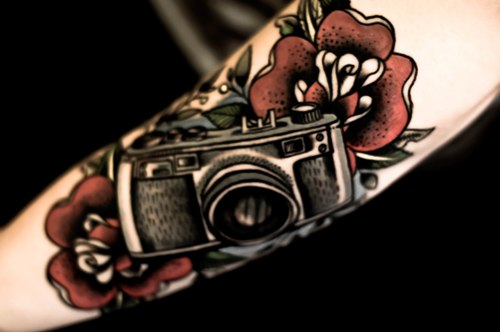 Color Camera Tattoo