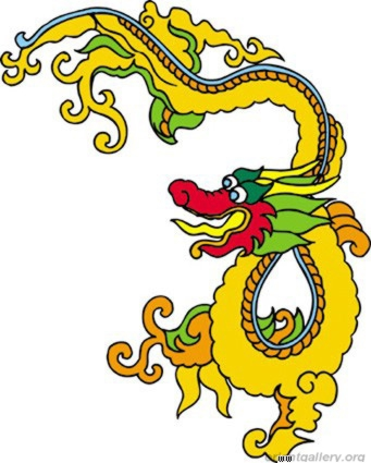 Cool Chinese Dragon Tattoo Design