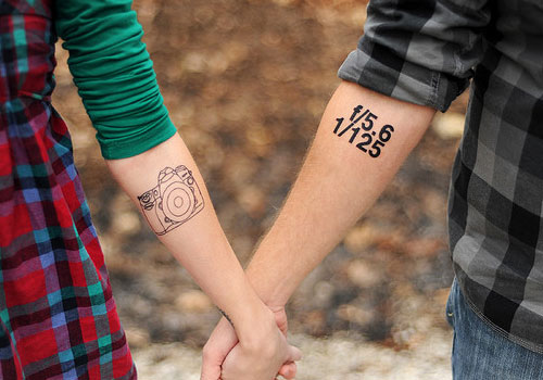 Tattoos Married Couples Designs