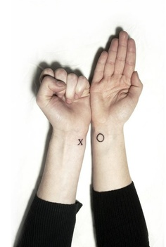 Cute Circle Tattoo On Wrist