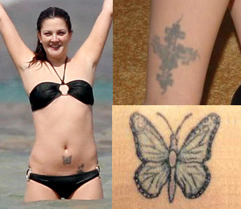 Drew barrymore tattoo designs tattoobite com