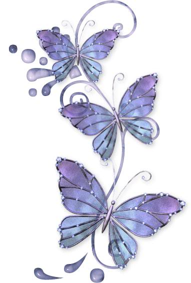 Elegant Butterflies Tattoo Designs