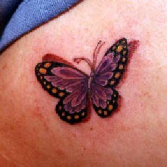 Elegant Butterfly Tattoo