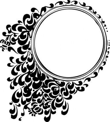Filigree Circle Tattoo Design