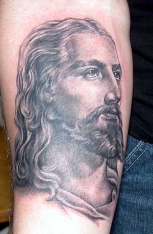 Jesus Christian Tattoo