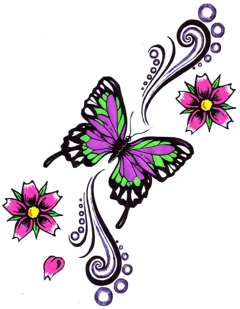 Butterfly Tattoos Designs And Ideas Page 30