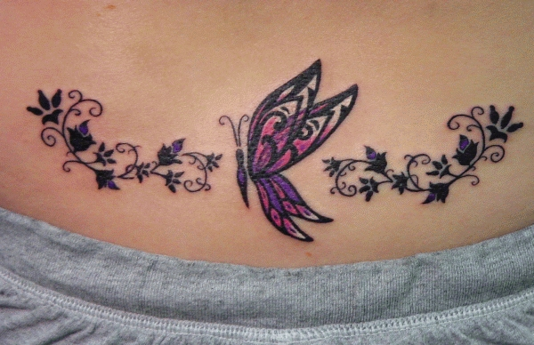 Lovely Butterfly Tattoo