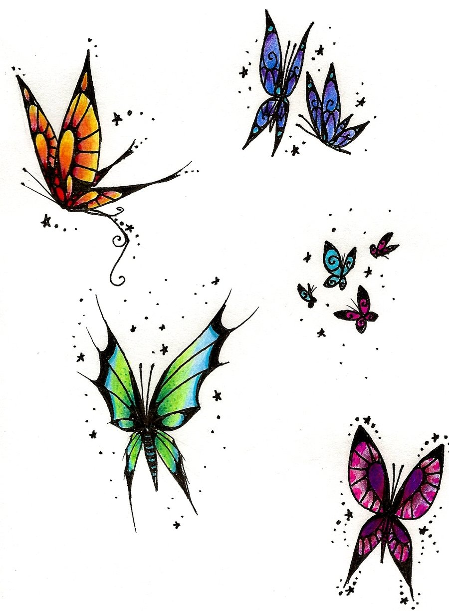 Butterfly tattoos designs and ideas page 23