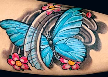 Marvelous Butterfly Tattoo