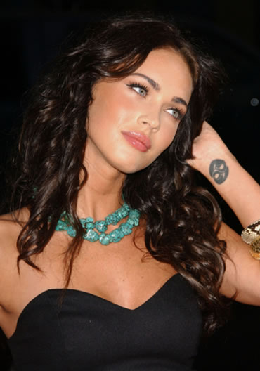 Megan Fox Celebrity Tattoo On Wrist