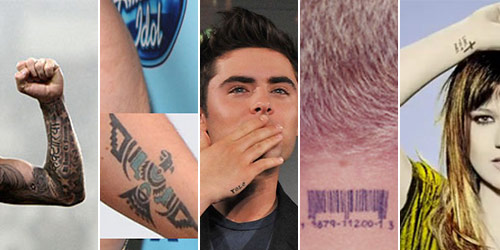 More Celebrity Tattoo Designs