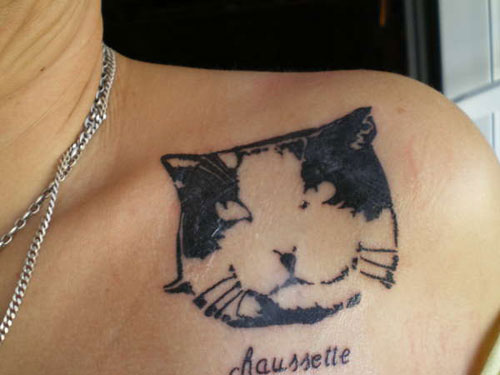 My Lovely Cat Tattoo