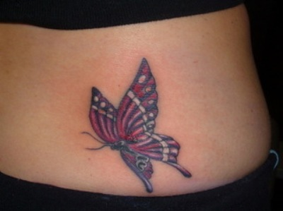 Outstanding Butterfly Tattoo