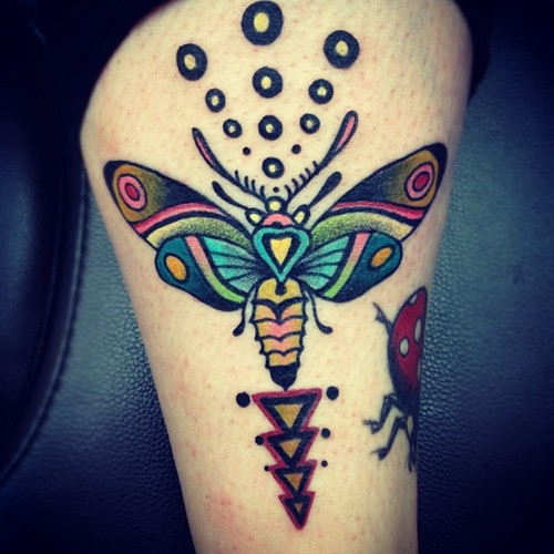 Phenomenal Butterfly Tattoo Design