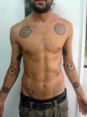 Polynesian Maori Circle Tattoo Design