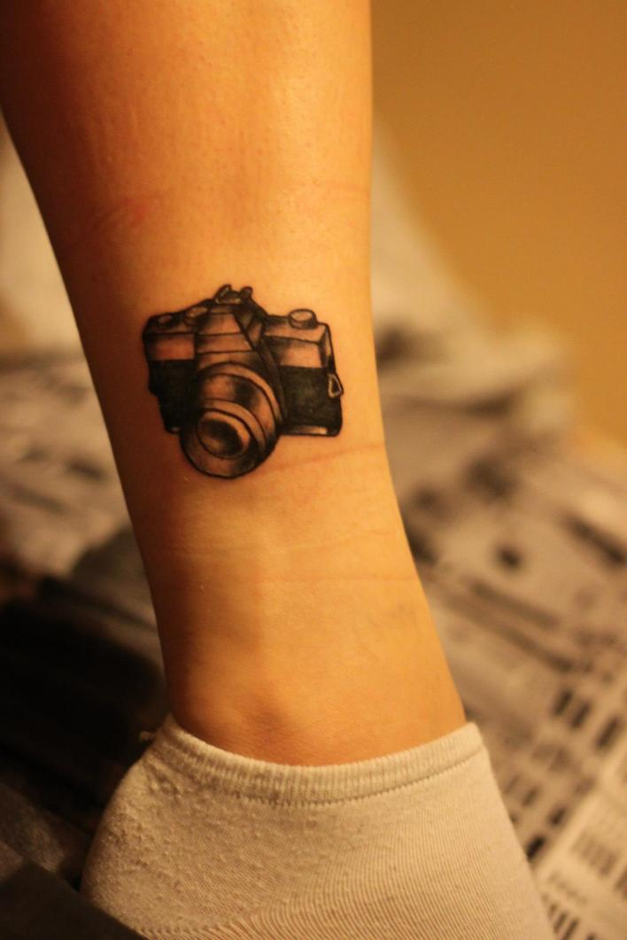 Camera Tattoos Designs And Ideas  Page 36