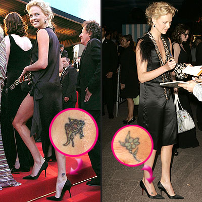 Tattoo On Celebrity Ankle