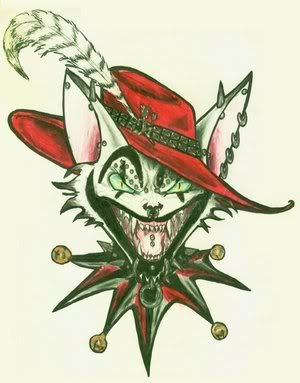 The Wicked Clown Tattoo Design