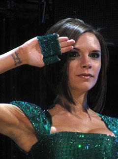 Victoria Beckham Tattoo On Wrist