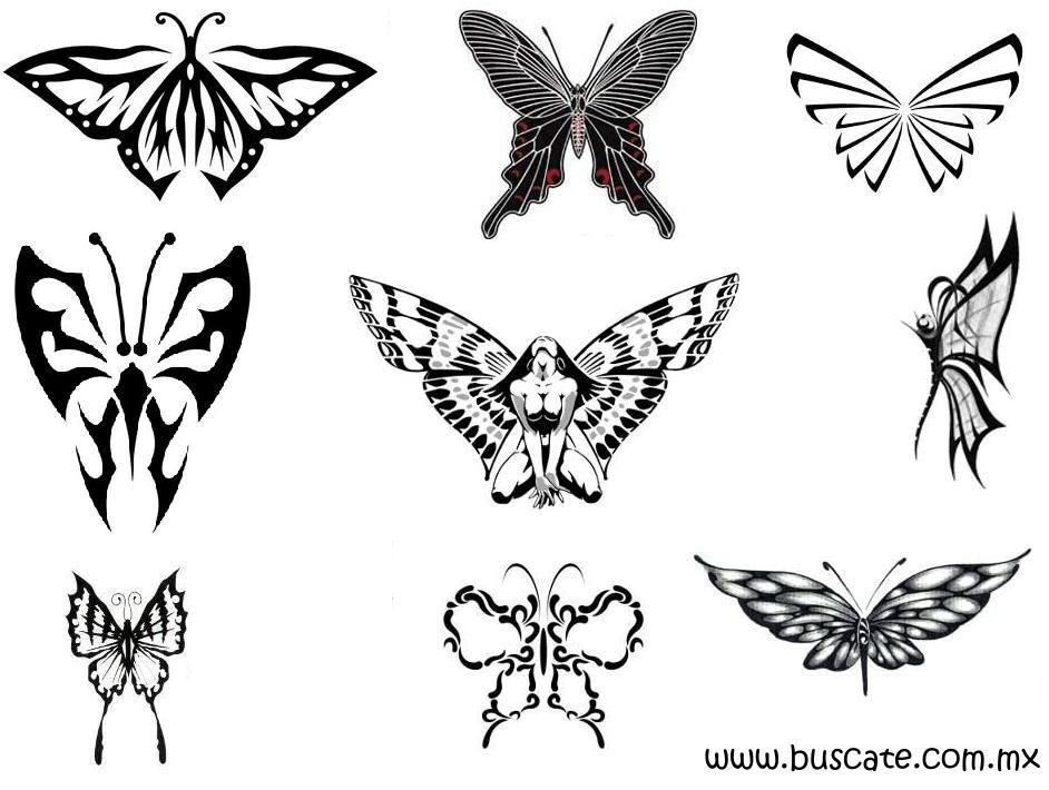 Wonderful Butterflies Tattoo Designs