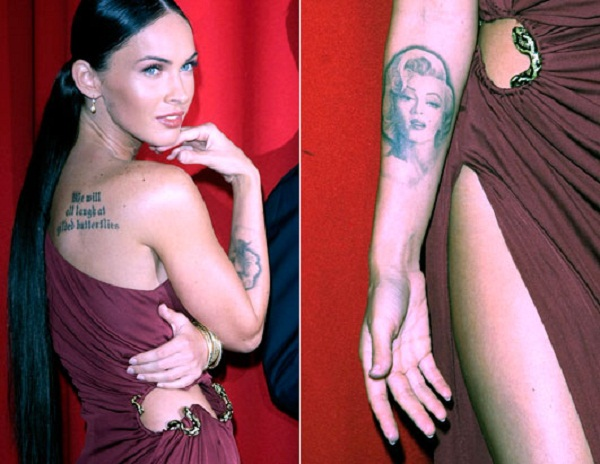 Worst Celebrity Tattoo Designs