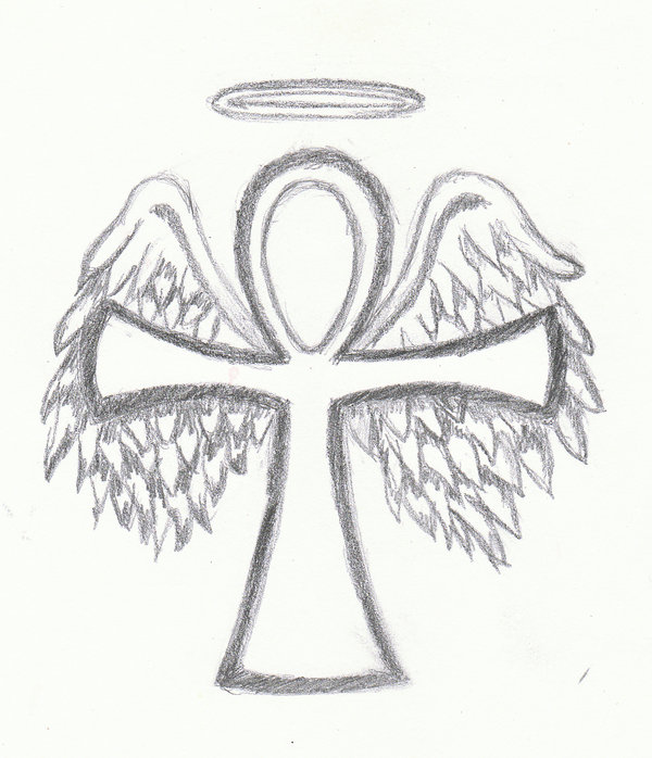 Ankh Cross Tattoo Drawing