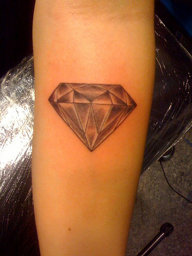 Awesome Diamond Tatto