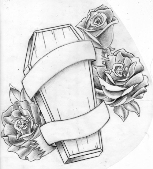 Coffin Tattoos Designs And Ideas Page 21