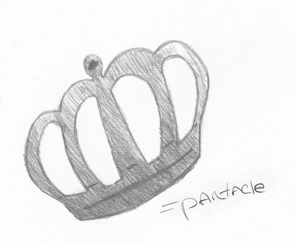 Crown Tattoo Sketch