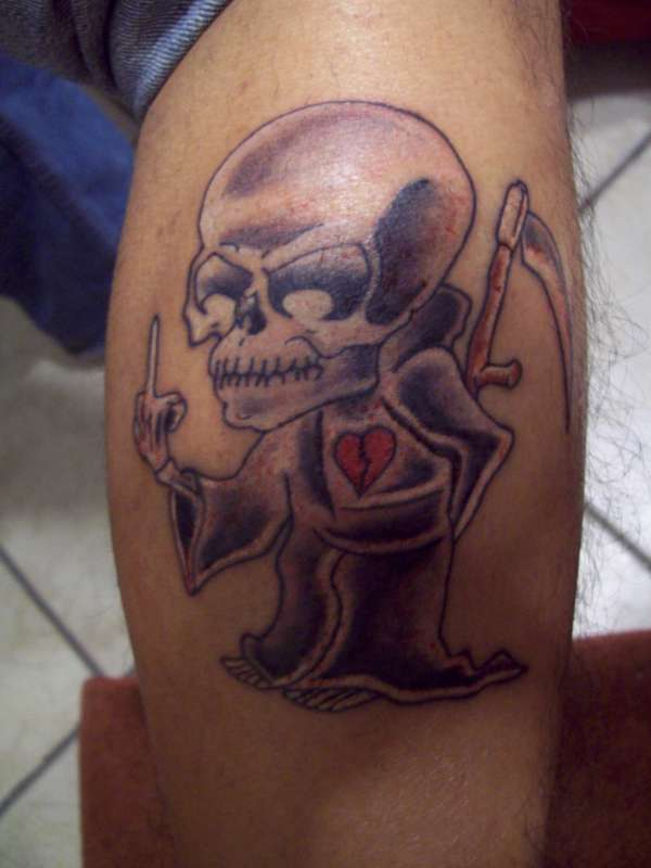 Death Love Tattoo