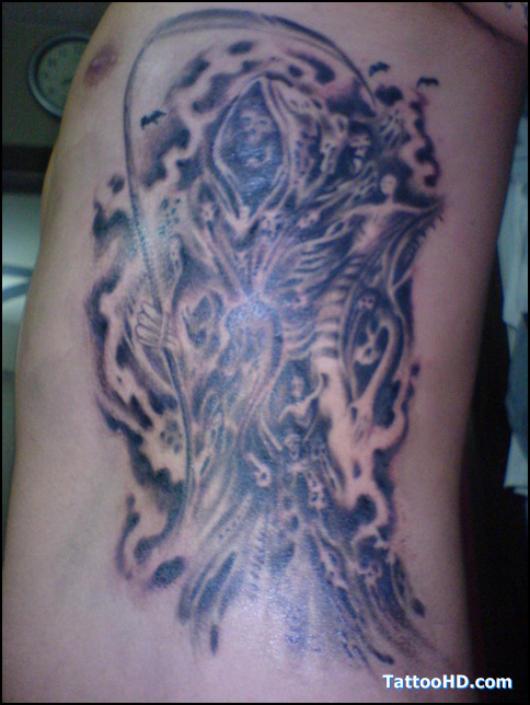 Death Tattoo Picture