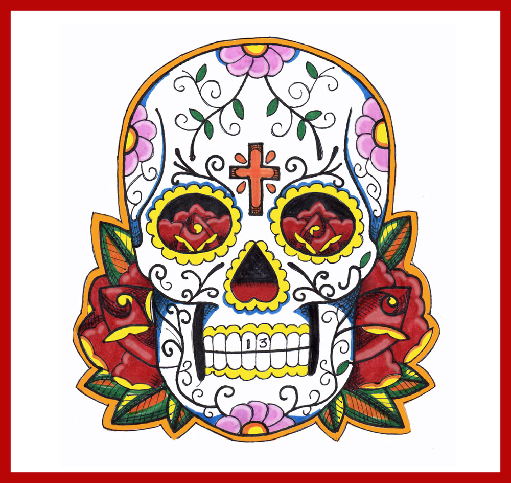dia de los muertos tattoos designs and ideas page 8