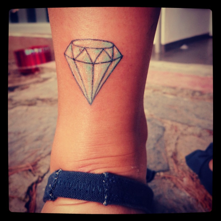 ... : Simple Diamond Tattoo Designs , Diamond Tattoo Designs For Men