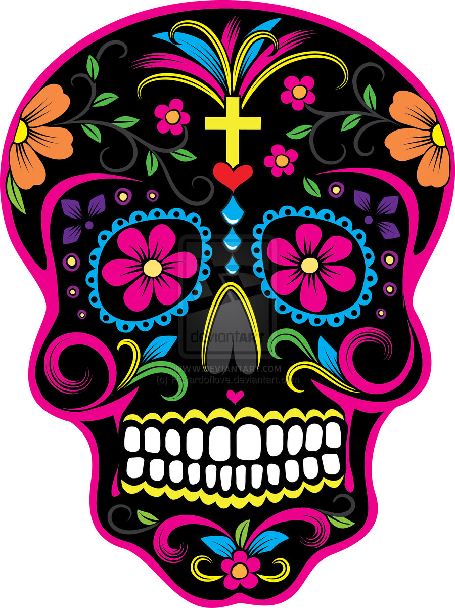 Papa Sugar Skull Dia De Los Muertos Tattoo Design Tattoobitecom