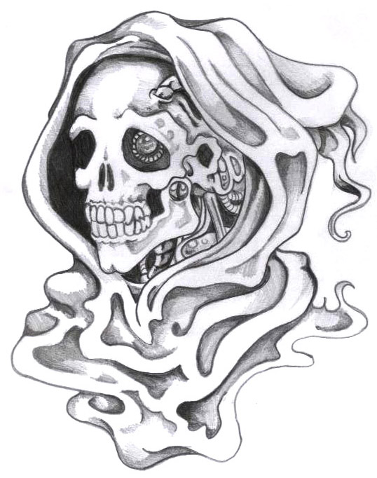 Ram Tattoo besides How To Draw Zombie Ariel in addition Grim Reaper Death Tattoo S le 3 furthermore Wounded Anime additionally Free Wolf Lineart By Hohtosusi. on scary bear drawing outlines