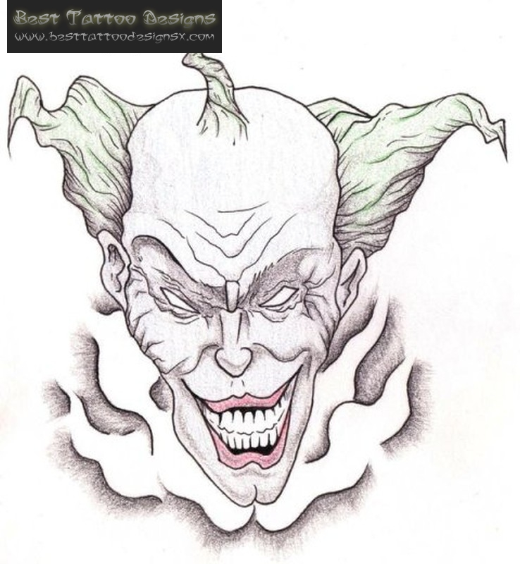 Clown Tattoos Designs And Ideas Page 16