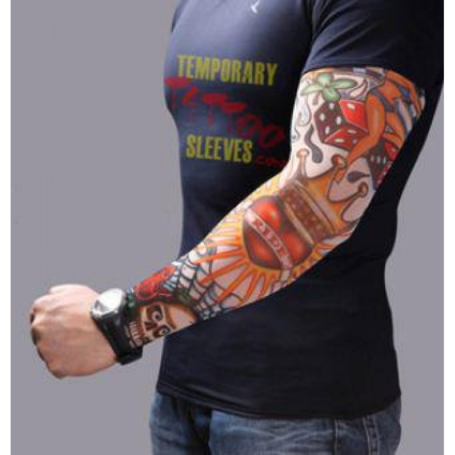 Real Heart Tattoo Sleeve