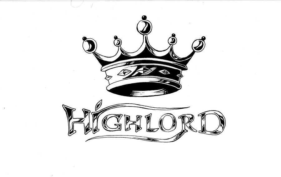 Name With Crown Tattoo Designs High Lord Crown Tattoo Design