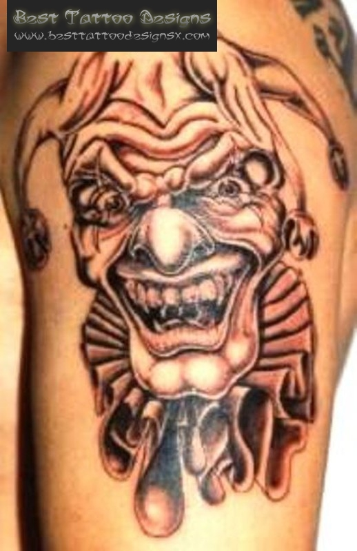 Insane Clown Tattoo