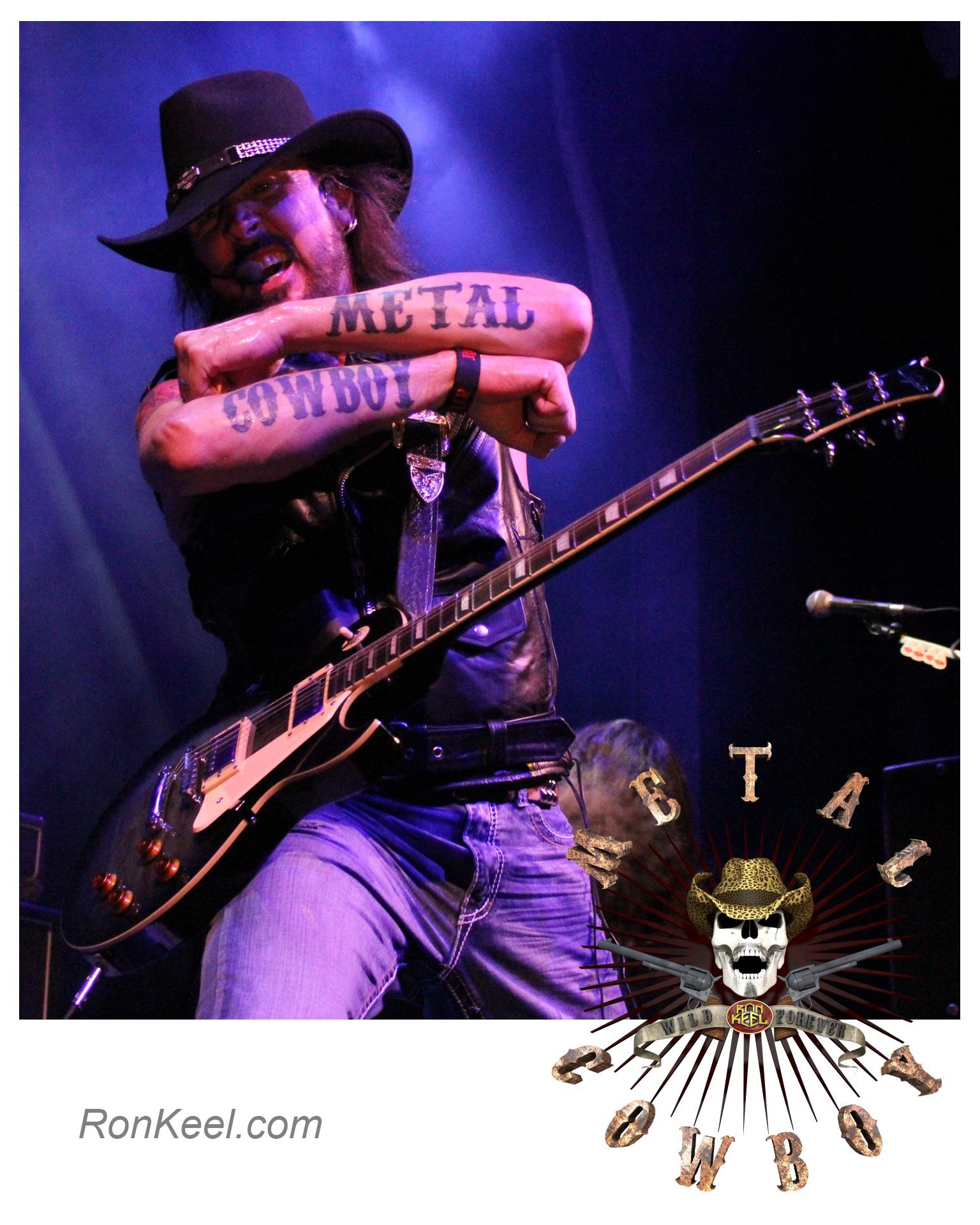 Metal Cowboy Tattoo With Ron Keel