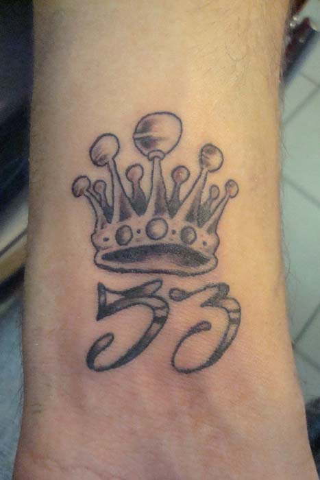 Nice Crown Tattoo
