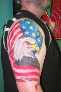 Patriotic Country Tattoo For Men